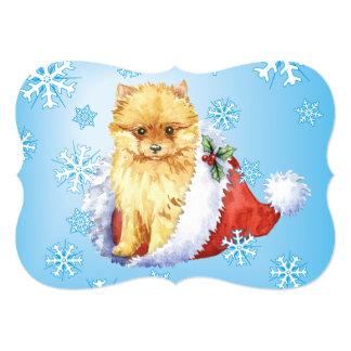 Happy Howlidays Pomeranian Card