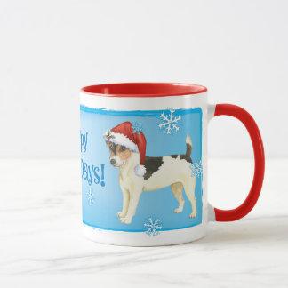 Happy Howlidays Russell Terrier Mug