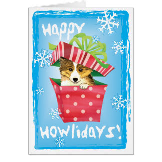 Happy Howlidays Sheltie Card