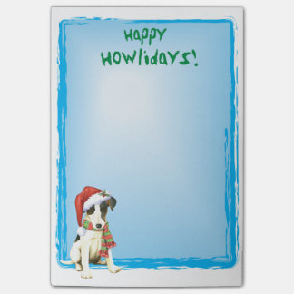 Happy Howlidays Smooth Fox Terrier Post-it® Notes