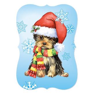 Happy Howlidays Yorkie Card