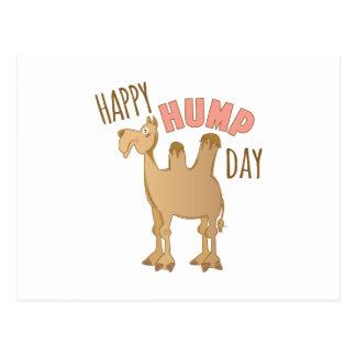 Happy Hump Day Postcard