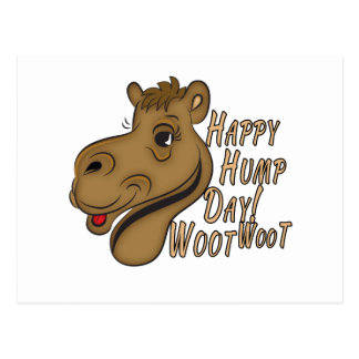 Happy Hump Day Woot Woot Postcard