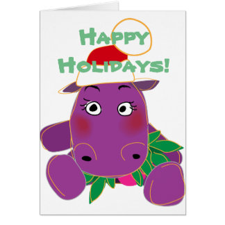 Happy Hungry Hippo Card
