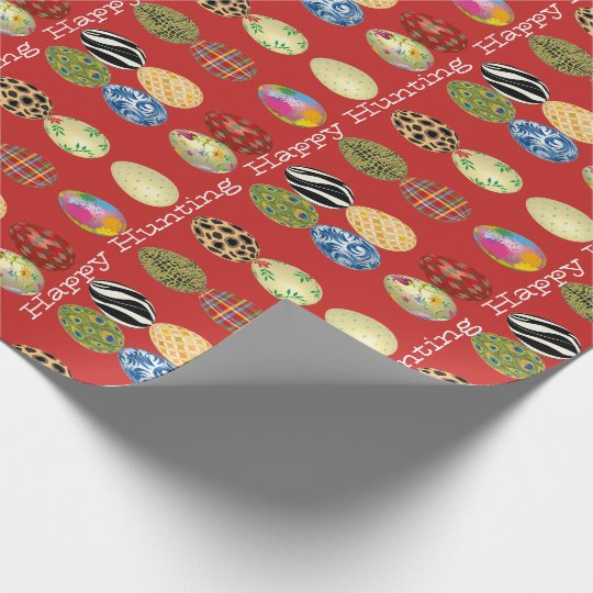 Happy Hunting Easter Wrapping Paper