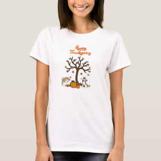 Happy Husky Thanksgiving T-shirt