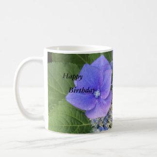 Happy Hydrangeas Birthday Mug