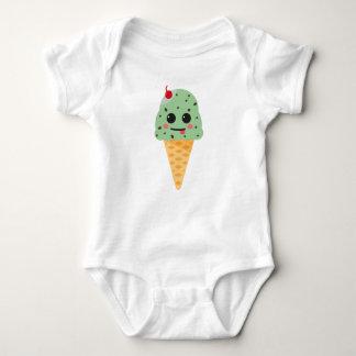 Happy ice cream baby bodysuit