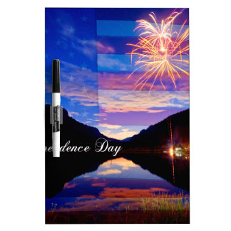 Happy Independence Day Dry-Erase Whiteboards