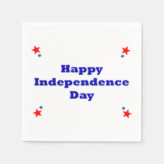 Happy Independence Day Napkins