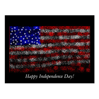 Happy Independence Day! Postcard