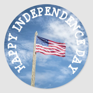Happy Independence  of July Stickers