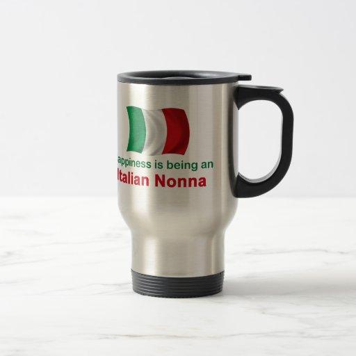 Happy Italian Nonna Coffee Mug