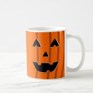 Happy Jack O Lantern Face Cartoon Mug