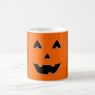 Happy Jack O Lantern Face Cartoon Coffee Mug