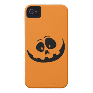 Happy Jack-O'-Lantern Pumpkin - Customize iPhone 4 Cover