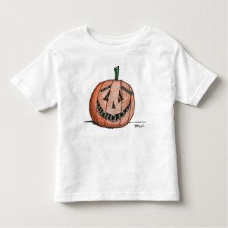 Happy Jack O Lantern Short Sleeve Toddler T shirt