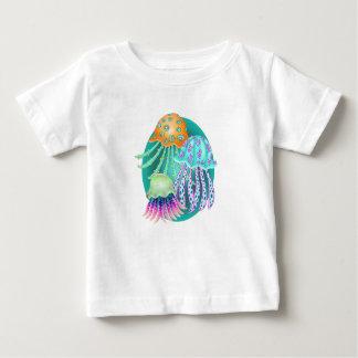 Happy Jellyfish Baby T-Shirt