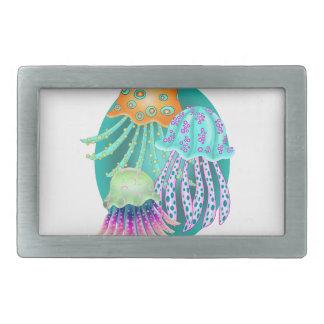 Happy Jellyfish Belt Buckles