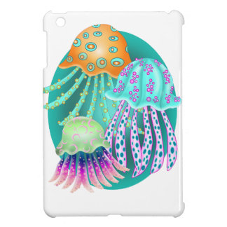 Happy Jellyfish iPad Mini Cases