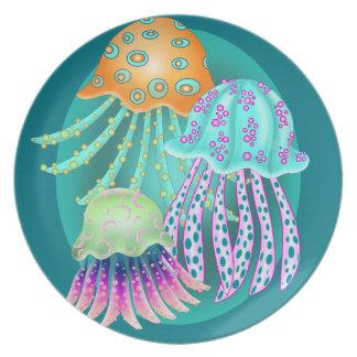 Happy Jellyfish Plate