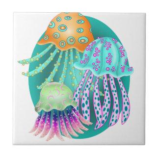 Happy Jellyfish Tile