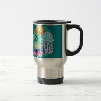 Happy Jellyfish Travel Mug