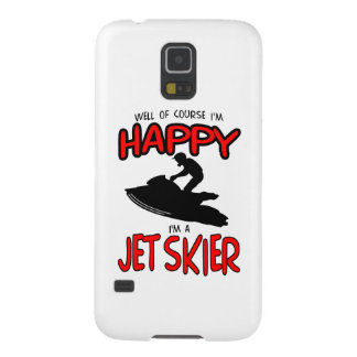 HAPPY JET SKIER (black) Galaxy S5 Cover