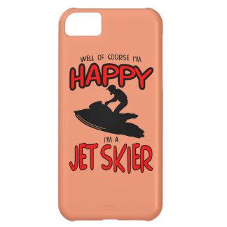 HAPPY JET SKIER (black) iPhone 5C Cases