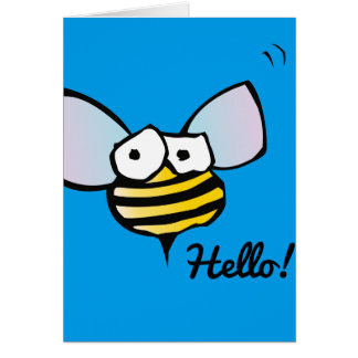 Happy Jolly Bee Card