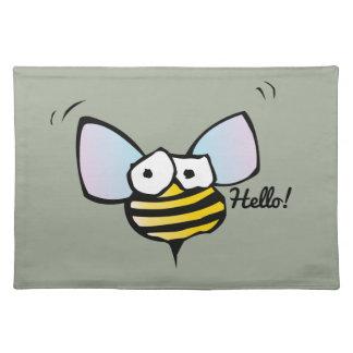 Happy Jolly Bee Place Mats