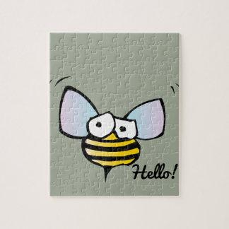 Happy Jolly Bee Puzzle