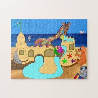 Happy Juul & Friends building castle Puzzles