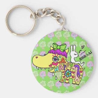 Happy Kaba-chan (Y) 1 Keychain