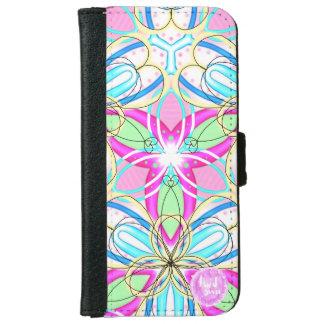 Happy Kaleidoscope iPhone 6/6s Wallet Case