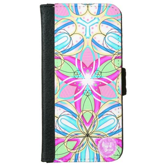 Happy Kaleidoscope iPhone 6/6s Wallet Case iPhone 6 Wallet Case