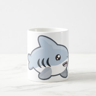 Happy Kawaii Shark Coffee Mug