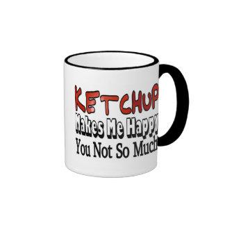 Happy Ketchup Ringer Coffee Mug