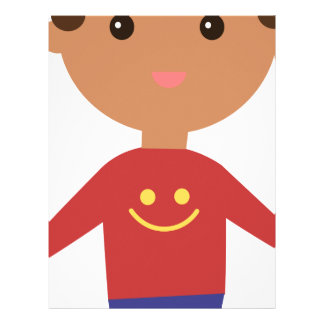 Happy Kid Letterhead
