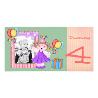 Happy Kids Birthday PHoto card