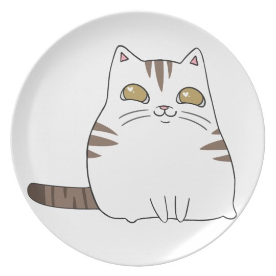Happy Kitty Plate