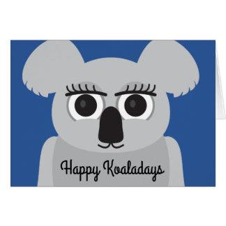 Happy Koaladays card