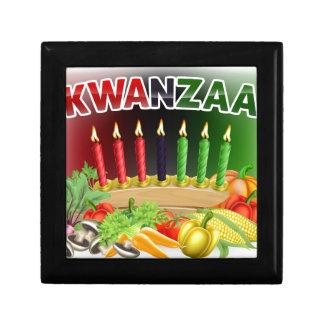 Happy Kwanzaa First Harvest Design Gift Box