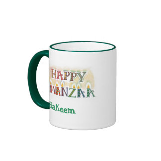 Happy Kwanzaa Mug - Personalized