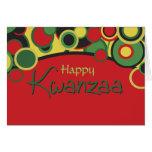 Happy Kwanzaa Note Card