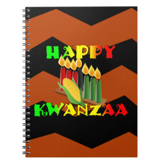 HAPPY KWANZAA NOTEBOOKS