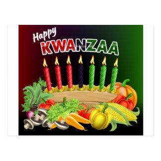 Happy Kwanzaa Sign Postcard