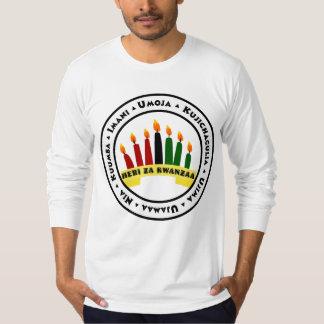 Happy Kwanzaa with 7 Principles T-Shirt