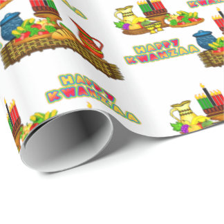 Happy Kwanzaa Wrapping Paper