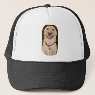 Happy Lab Trucker Hat